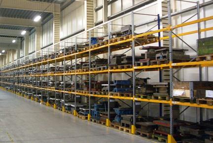 Scaffalature Metalliche Misure Standard.Sicurezza E Stoccaggio Le Scaffalature
